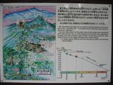 愛子岳登山道イラストマップ
