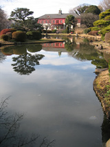 日本庭園と旧東京医学校本館1