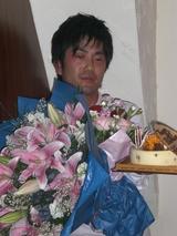 藤野さんと花