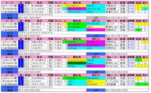 シルクロードS(過去成績)2013