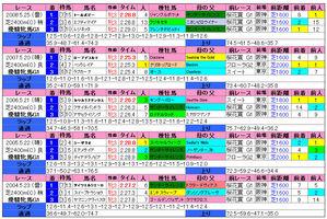 オークス(過去成績)2009