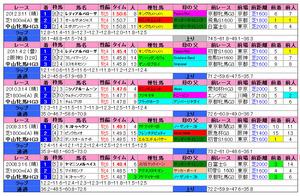 中山牝馬(過去成績)2013