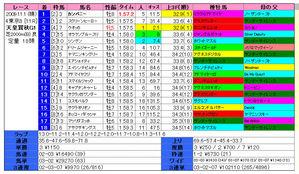 天皇賞(秋)結果2009