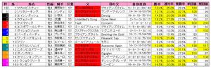 ジャパンカップダート(枠順)2011