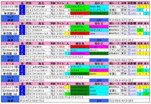 皐月賞(過去成績)2010