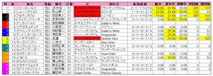 菊花賞(枠順)2009