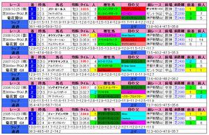 菊花賞(過去成績)2010