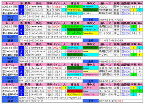 中山金杯(過去成績)2010
