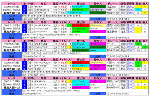 新潟大賞典(過去成績)2010