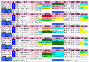 阪神JF(過去成績)