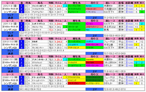 シンザン記念(過去成績)2013