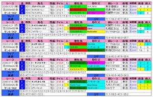 セントライト記念(過去成績)2010