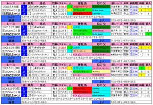 目黒記念(過去成績)2009