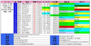ファンタジーS(結果)2009