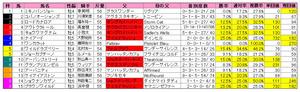 京阪杯(枠順)2011