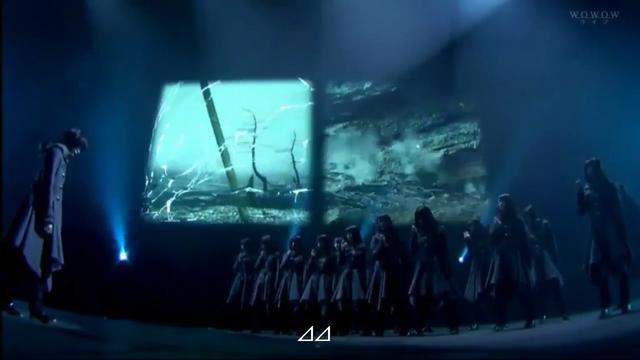 【エンタメ画像】欅坂46の最新パフォーマンスが完全に芸術作品!!!!!(ムービーあり)