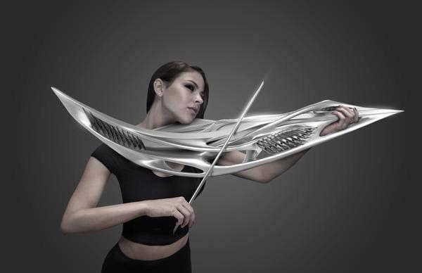 【エンタメ画像】【悲報】最近のバイオリン、もはや武器みたいになる☆☆☆☆☆(画像あり)