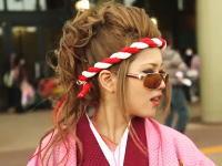 ヤンキー女。DQNだらけな沖縄の成人式を取材したドキュメンタリーがあった。