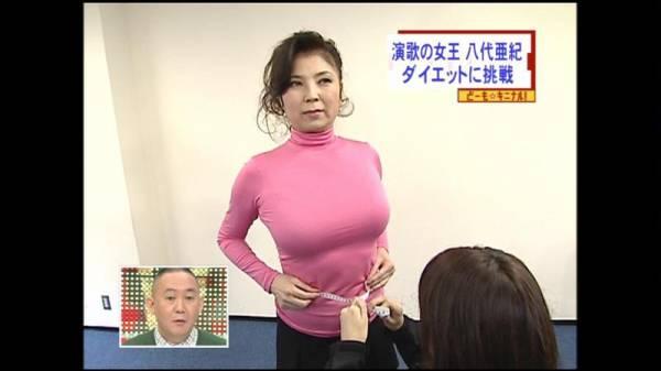 【エンタメ画像】【画像】八代亜紀ちゃん(67)のパツパツお胸!!!!!!!!!!!!!!!!!!!!!!!!!!!!!!!!!
