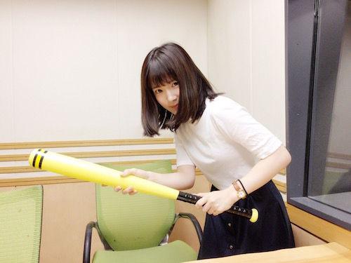 【エンタメ画像】声優・内田真礼さんのバントの構えがこちらになります☆☆☆☆☆☆☆☆☆☆☆☆w【画像あり】