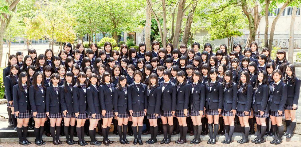 【エンタメ画像】【画像】平均的な女子高校生の集合写真をご覧ください!!!!!!!!!!
