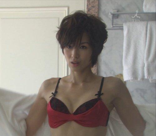 【エンタメ画像】【画像】吉瀬美智子のエ口過ぎるオッパイwwwww