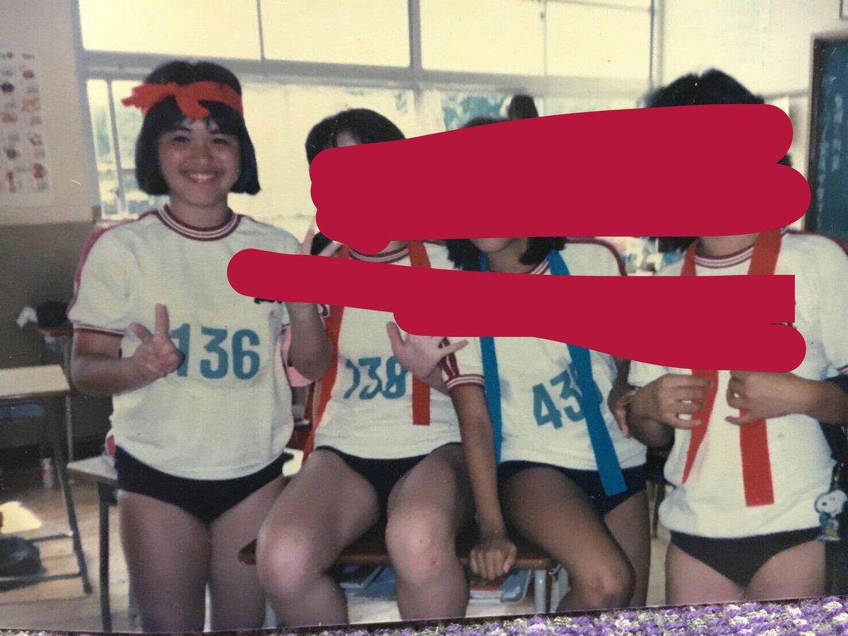【エンタメ画像】元HKT菅本裕子さん、母の中学時代のブルマ写真をTwitterに投稿→母にブチ切れられる【画像あり】
