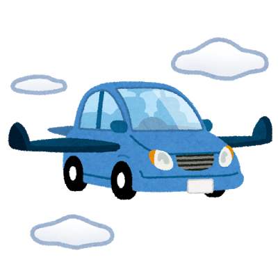 car_sky_flying