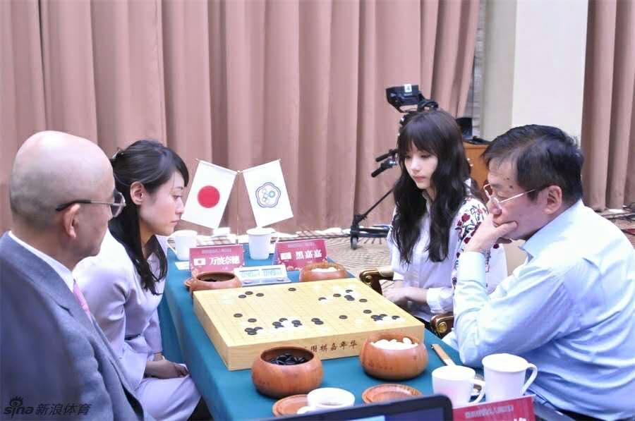 【エンタメ画像】《画像》台湾のエッロイ囲碁棋士がけしからん☆☆☆☆☆☆☆☆☆☆☆☆
