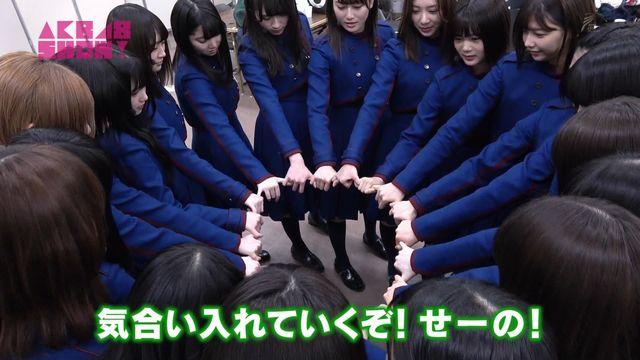 【エンタメ画像】【画像】欅坂、乃木坂、AKBの紅白ハメ前の円陣の違いをご覧ください♪♪♪♪♪♪♪♪♪♪♪♪