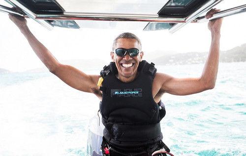【エンタメ画像】《朗報》オバマ、大統領を辞めてウキウキ!!!!!!!!!!!!!!!【画像あり】