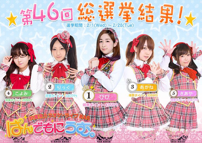 【エンタメ画像】秋葉原で最も激カワ小間使いさん、5人が決定!!!!!!!!!(画像あり)