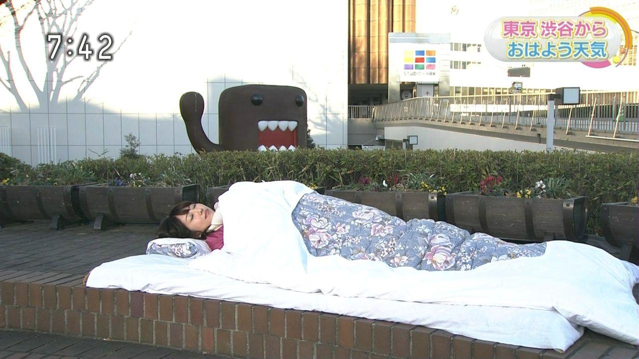 【エンタメ画像】《悲報》NHKの気象予報士、生放送中に寝る★★★★★【画像あり】