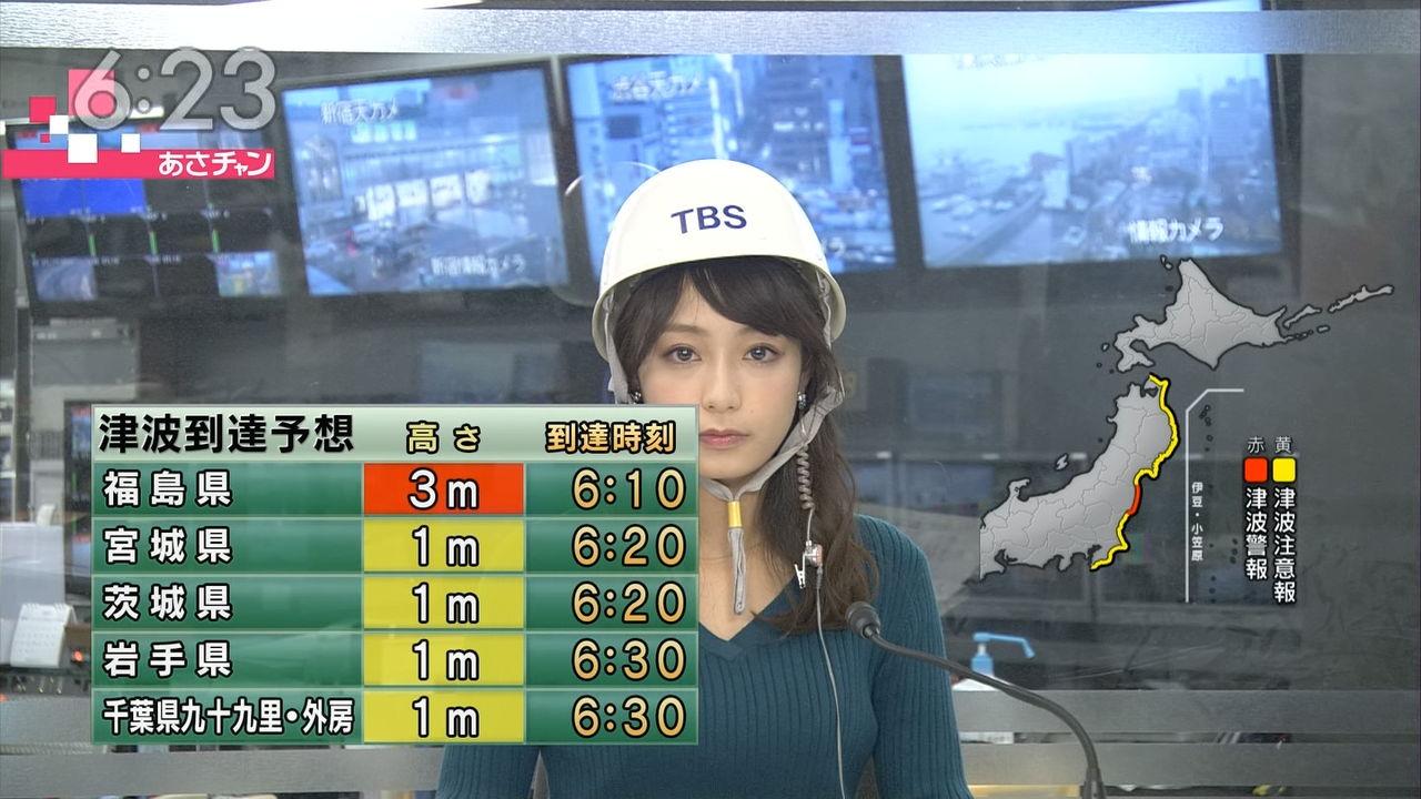 【エンタメ画像】地震速報のアナウンサー可愛すぎワロタ!!!!!!!!!!!!!!!!!!!!!!!!!!!!!!【画像あり】