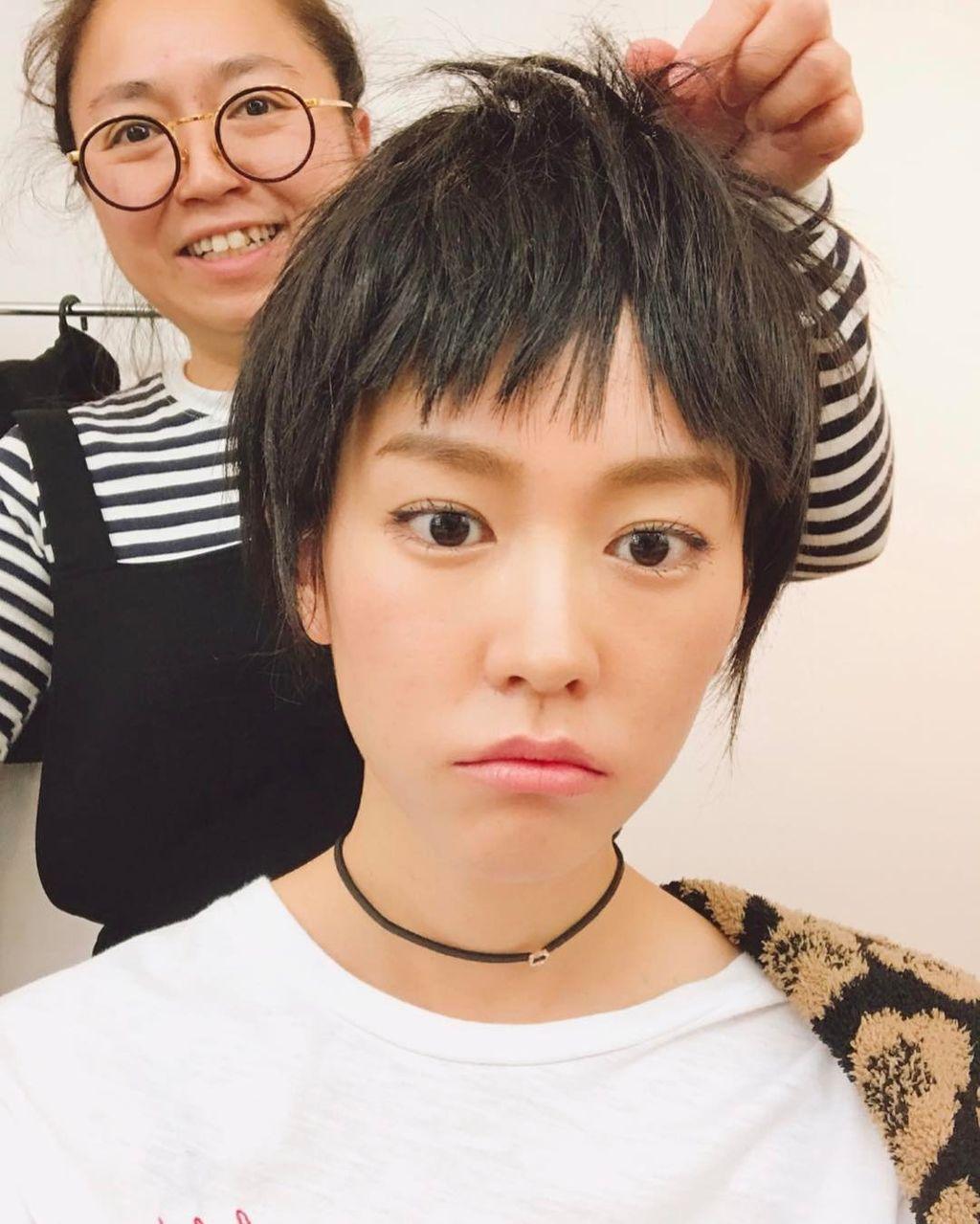 【エンタメ画像】短髪の毛にした桐谷美玲がかわいすぎる♪♪♪(画像あり)
