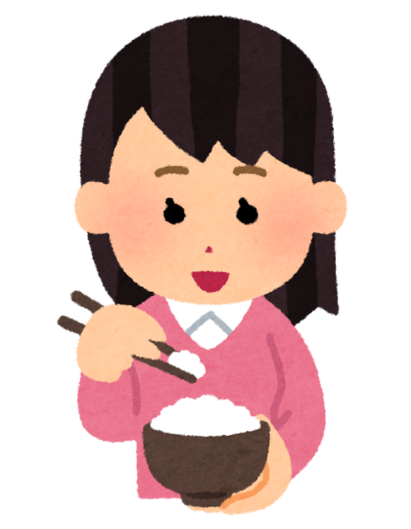 syokuji_hashi_woman