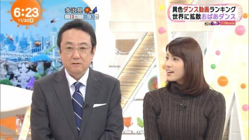 【エンタメ画像】《朗報》めざましテレビ、永島アナのオッパイ、デカすぎる♪♪♪♪♪【画像あり】