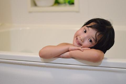 子供と風呂