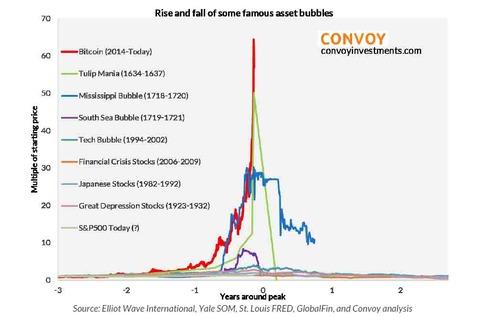 ビットコイン、チューリップ・バブルを超えて未知の領域へ