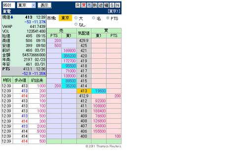 複板: 9501 東電 0