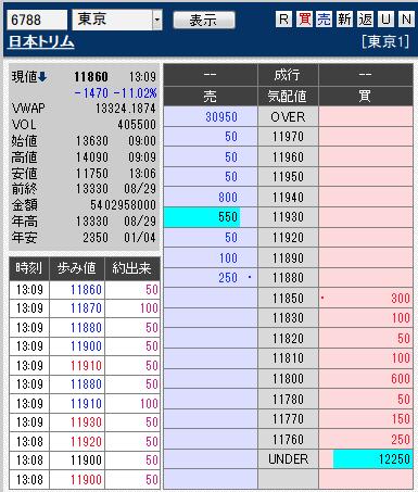 板: 6788 日本トリム3