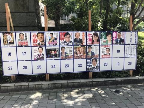 第21回東京都知事選、開票0秒で決着