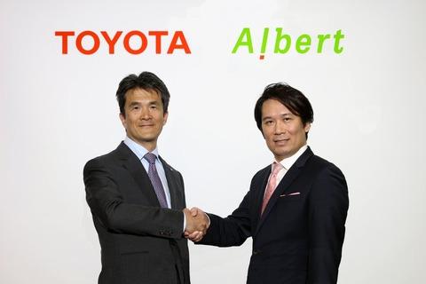 ALBERTがトヨタと資本業務提携、上場以来の赤字と会長関与のインサイダー取引と希薄化91.33%の株券印刷を経て