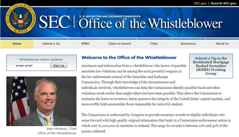Welcome to the Office of the Whistleblower
