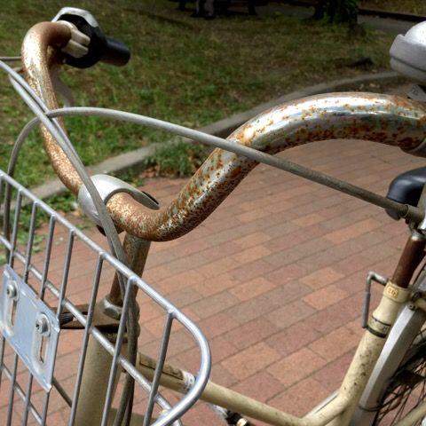 サビ 自転車 落とし チェーン
