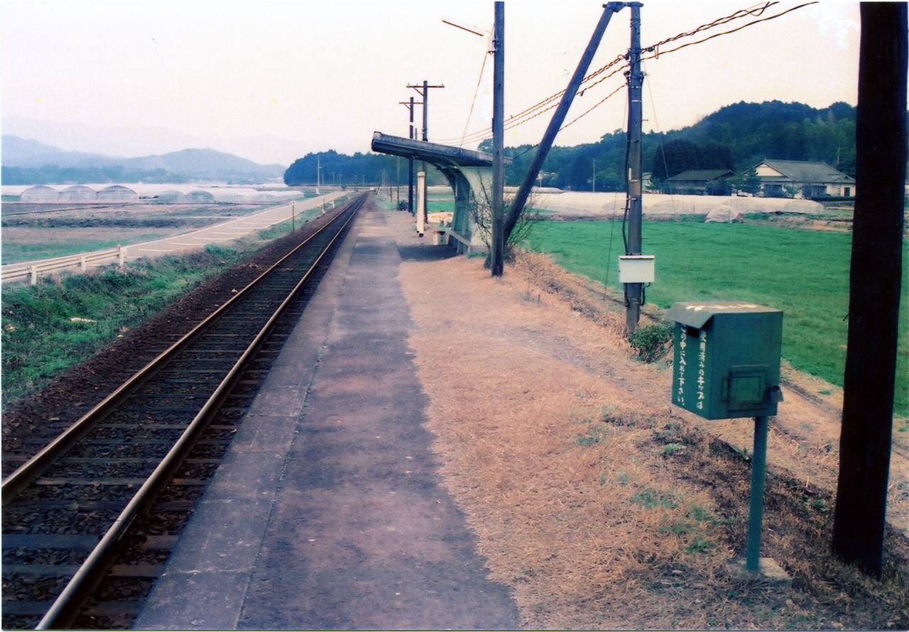 木上駅 : プラットホームの旅