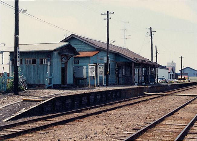 常呂駅 : プラットホームの旅