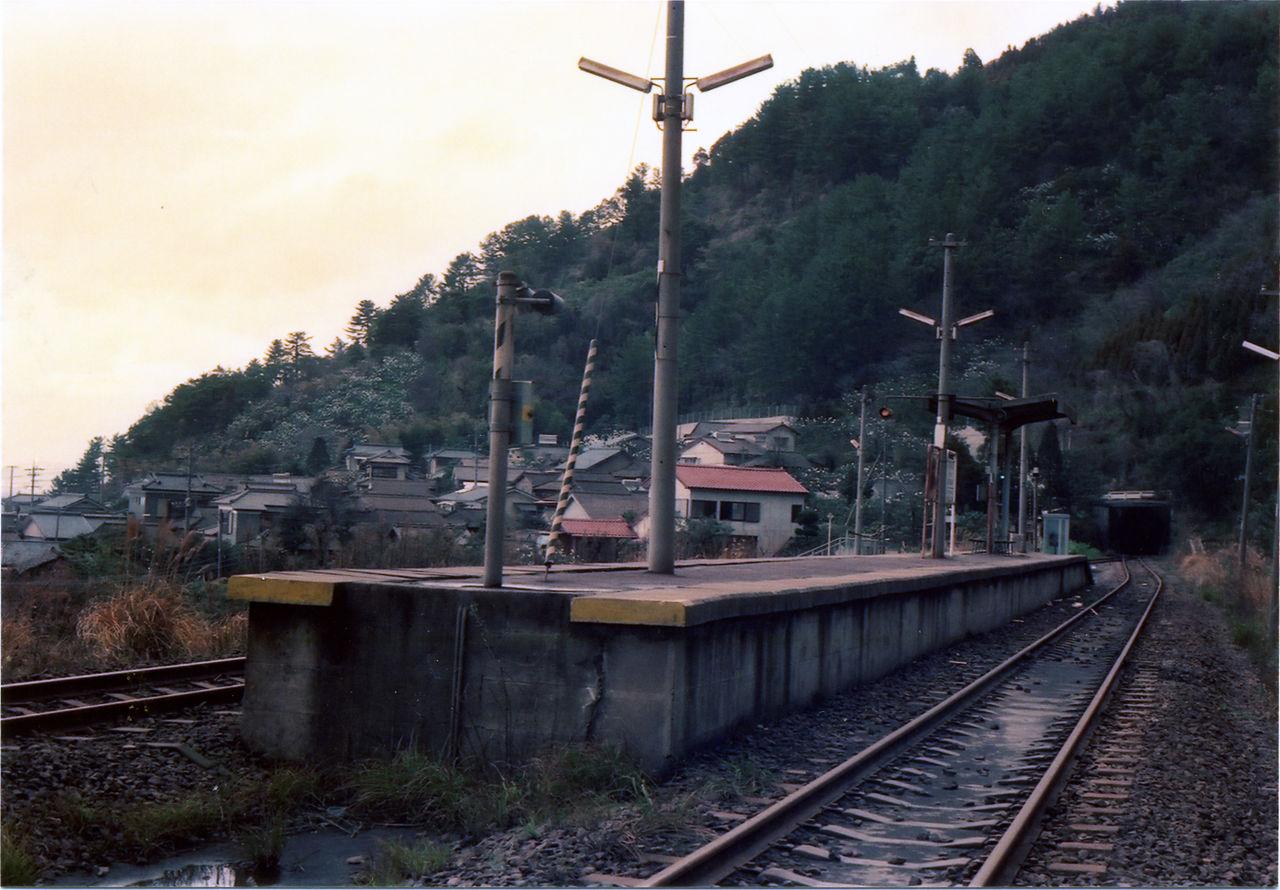 大隅境駅 : プラットホームの旅