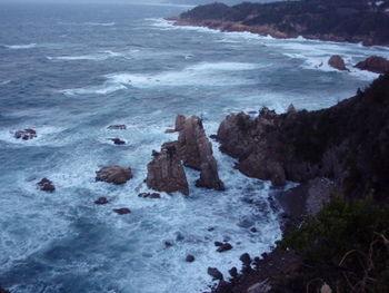 人形峠 駕籠立から日本海