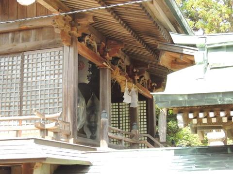 櫛代賀姫神社 三間社流造